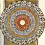 HIldegard von Bingen Zeichnung- Engel im Kreis