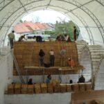 Der Bau des Gästehaus