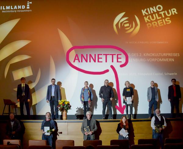 Verleihung des Kinopreises in Schwerin